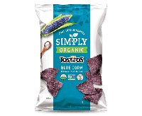 Simply Organic Tostitos Blue Corn Tortilla Chips (255g)