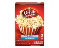 Orville Redenbacher's Movie Theater Butter Popcorn Pop-Up Bowl (3 bags)