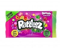 Bazooka Rattlerz Sour Candy Chews (120g)