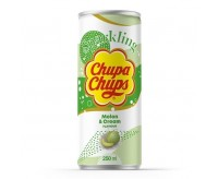 Chupa Chups Sparkling, Melon & Cream (250ml)