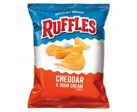 Ruffles Cheddar & Sour Cream Potato Chips (184g) USfoodz