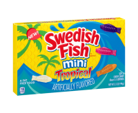 Swedish Fish Mini Tropical Soft & Chewy Candy (99g)