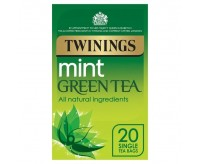 Twinings Mint Green Tea (20 Tea Bags) (40g)