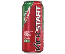 Mountain Dew Kickstart Fruit Punch (473ml)