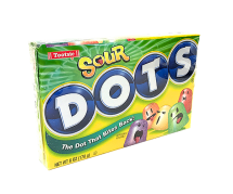 Dots Sour 5 Flavors Candy (170g)
