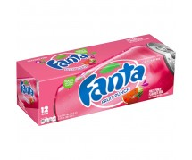 Fanta Fruit Punch Soda (355ml) USfoodz