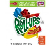 Fruit Roll-Ups Blastin' Berry Hot Colors Fruit Flavored Roll Ups (141g)