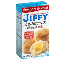 Jiffy Buttermilk Biscuit Mix (198g)