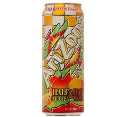 Arizona Half & Half Iced Tea / Mango (680ml)