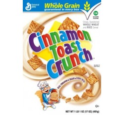 Cinnamon Toast Crunch Cereal (340g)