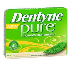 Dentyne Pure With Melon Accents (Sugar Free)