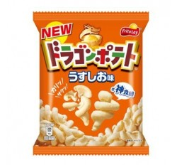 Dragon Potato Chips, Tasty Salt (50g)