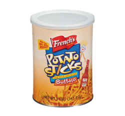 French's Buffalo Potato Sticks (141g)
