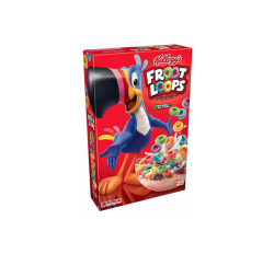 Kellogg's Froot Loops Cereal (286g)