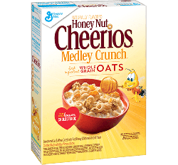 Cheerios Honey Nut, Medley Crunch (371g)