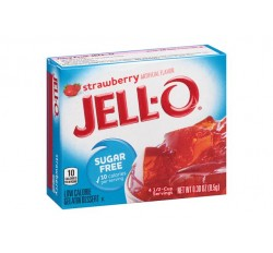Jell-O Strawberry Sugar Free Gelatin Dessert