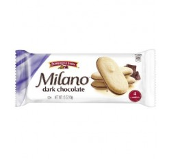 Milano Dark Chocolate Cookies, 4-Pack (43g)