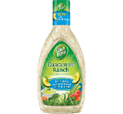 Wish-Bone Guacamole Ranch Dressing (437ml) (BEST-BY 19-05-2018)