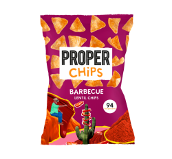 Proper Barbecue Lentil Chips (20g)