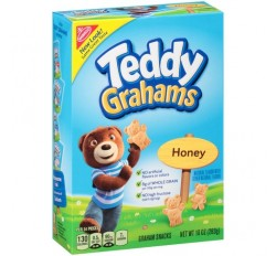 Teddy Grahams Snacks Honey (283g)  USfoodz