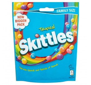 Skittles Tropical, Family Size (196g)