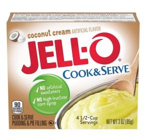 Jell-O French Vanilla, Instant Pudding & Pie Filling (96g)