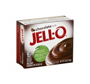 Jell-O Chocolate Instant Pudding & Pie Filling (110g) USfoodz