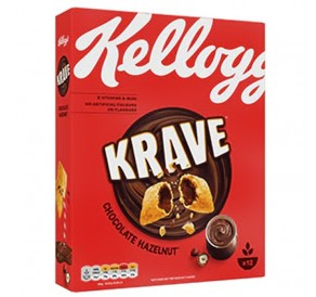 Kellogg's Krave Double Chocolate (312g)