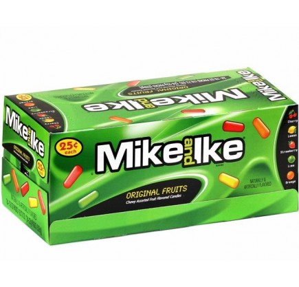 Mike and Ike Original Fruits (24x22g) VOLUME
