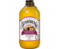 Bundaberg Sparkling Drink, Passion Fruit (12x375ml) VOLUME