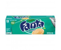 Fanta Grapefruit Soda, 12 Cans Fridgepack