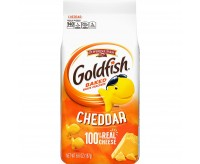 Goldfish Baked Snacks Crackers, Cheddar Cheese (187g)