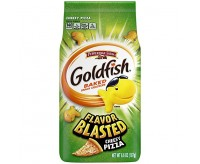 GoldFish Flavor Blasted, Cheezy Pizza (187g) (BEST-BY 19-01-2020)