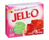 Jell-O Gelatin Dessert, Fruit Punch (85g) (BEST BY 13-05-2020)