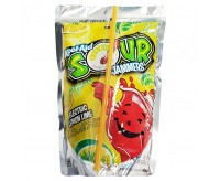 Kool-Aid Jammers, Sour Electric Lemon Lime, Single Pouch (177ml)