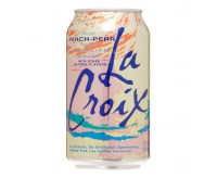 La Croix Sparkling Water, Peach Pear (355ml)