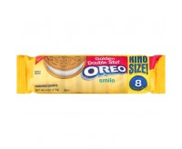 Oreo Golden Double Stuf Sandwich Cookies (King Size) (113g)
