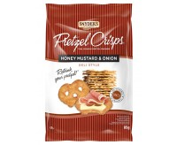 Snyder's Deli Style Honey Mustard & Onion Pretzel Crisps (85g)