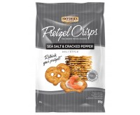 Snyder's Deli Style Sea Salt & Cracked Pepper Pretzel Crisps (85g)