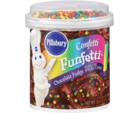Pillsbury Frosting, Chocolate Fudge Confetti Funfetti (453g)