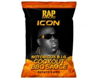 Rap Snacks Icon Notorious B.I.G. - Cookout BBQ Sauce Chips (78g)